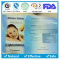 Glutathion capsule 1000 mg, Glutathion et collagène, Actif blanc glutathion