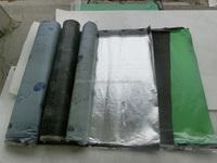 Self-adhesive bitumen waterproof membrane/aluminum roof flashing