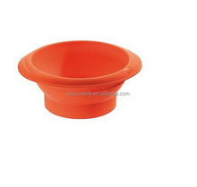 Top level unique new products silicone bowls for picnic