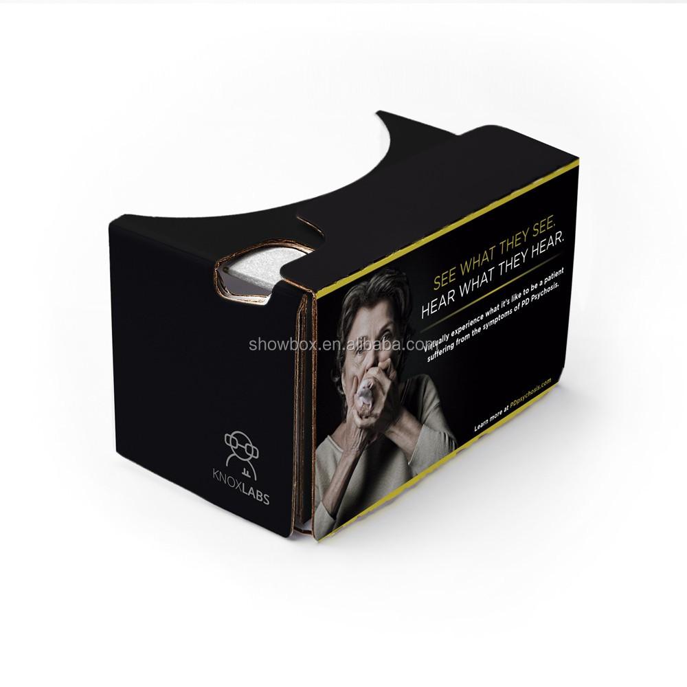 Christmas gift custom logo google cardboard VR 3D virtual reality headset (7).jpg