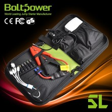 rechargeabl bolt power 12000mah multi-function emergency car jump starter