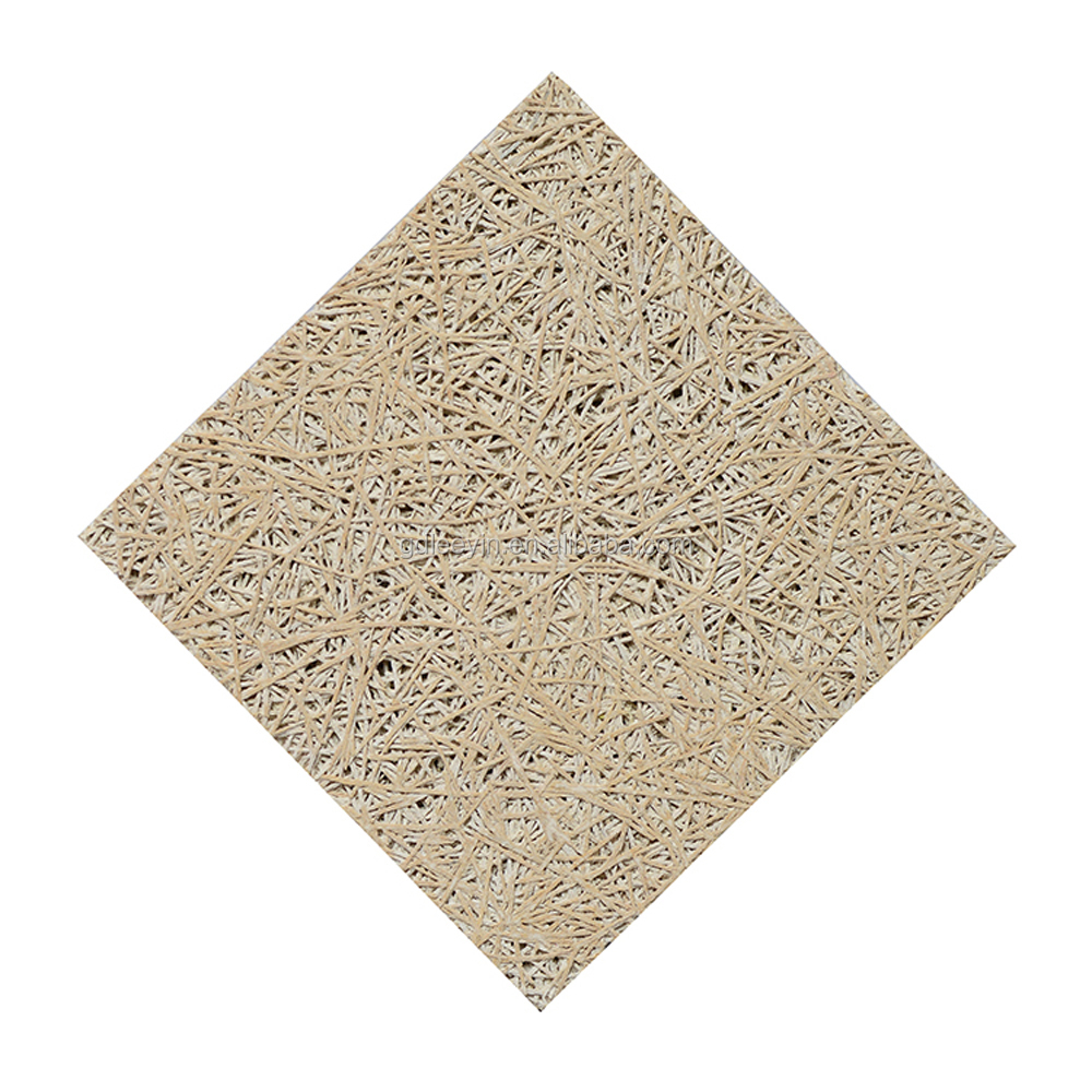 Insulating ceiling tiles