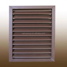 Wood plastics composite outside using air conditioning frame parts