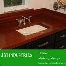 Commercial bathroom sink countertop with competitive price/hot sales butcher block