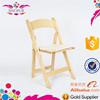 cheap wooden folding wimbledon garden chairs for wedding