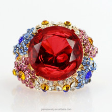 Wholesale Womens Fashion Jewelry Colorful Designer Rings