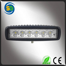 6 inch mini led driving light 18W led light auto tuning