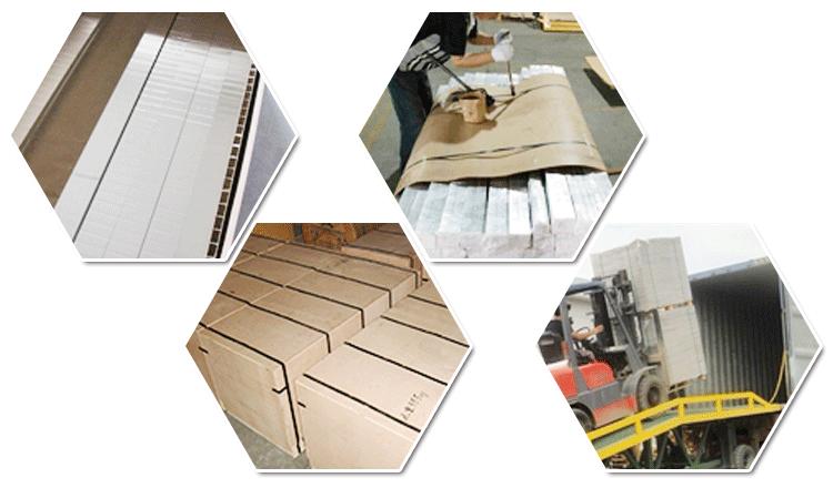 Алюминий сотовым заполнителем для алюминиевые сотовые панели производственная линия