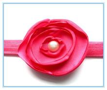 Yiwu wholesale big flower elastic headband Ebay hot selling hair accessories style