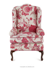 American style armchair floral design living room furniture AO6119