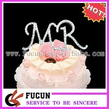 45mm High Quality Shiny Rhinestone Cake Topper for Accessory