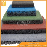 recycled tire rubber mat natural rubber yoga mat for exercise