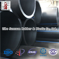 Large diameter plastic HDPE pipe with factory prices