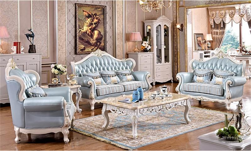 Europeu estilo franc s antigo esculpido em madeira tecido for Sofa estilo frances