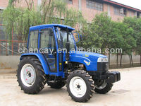45HP 4WD Farm Tractor 454 450 cab and air condtioner ,disc plough, mower, trailer available