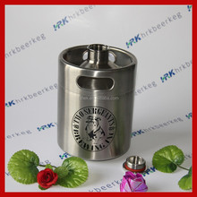 64OZ High quality stainless steel empty barrel for beer
