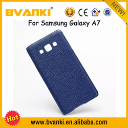 New 2016 Innovative Mobile Phone Accessories Leather Gun Case Of Back Cover For Samsung Galaxy A7 Mobile Phone Cover
