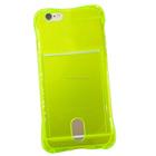 TPU transparente de silicone telefone escudo protetor define Beicha Caso cartão GOTA para iPhone6, aceitar paypal