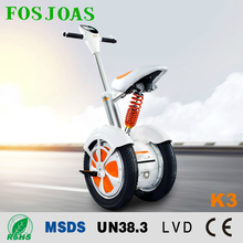 s.korea style Airwheel a3 first one with seat electric scooter fosjoas k3 two wheel electric scooter unicycle with patent