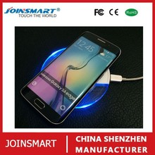 Factory supply qi standard CE CCC approved wireless induction charger pad for samsung galaxy series