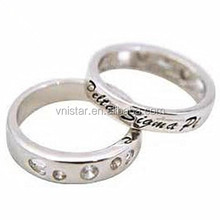 Vnistar 2015 high quality simple Delta Sigma Theta rings wholesale from China