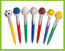 Christmas promotional gift Baseball Pens/Football pens/Basketball/Tennis pens