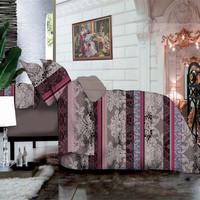 luxury european custom printed bed linen, 3d bed linen quilt cover