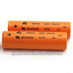 18650 1500mAh MNKE IMR rechargeable li-ion battery