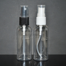 New products 2016 plastic 50ml air pressure spray bottle