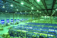 Production line carton flow storage racking