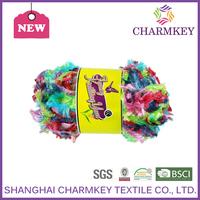 2015 Charmkey knitting cotton yarn for hand knitting uruguay yarn