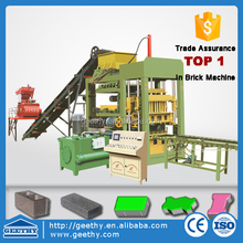 QT4-15 concrete paving factory direct/high efficient brick machine/hydraulic curbstone bricks making machine