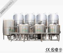 comercial de cerveza planta de elaboración de la cerveza