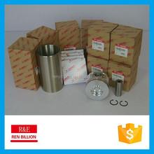 Engine system cylinder liner kit 4TNV98 rebuild new kit piston+ring+cylinder liner+pin+clip