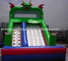 funny inflatable bounce slide for children