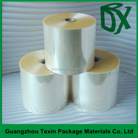 Transparency clear PVC heat shrink palstic film in roll china suppliers