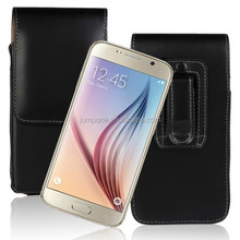 Pull Tab Vertical Belt Clip pouch cover Holster leather case for samsung GALAXY s6 g9200 g9208