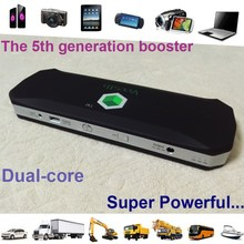 High end 12V 24V Portable Mini Jump Starter 18600mAh Car Jumper Booster Power Battery Charger Cell Phone Tablet Pad Power Bank