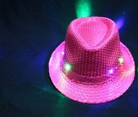 LED light hat with 6 LED lights