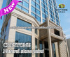 Hotel exterior wall marble effect spray stone granite paint