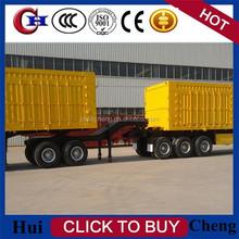 2015 Hui Cheng Cargo Trailer with Box Body/ 3 axles Box Trailer/Enclosed Cargo Trailer
