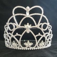 cheap hair accessories full crystal tall pageant pfm richmond crown