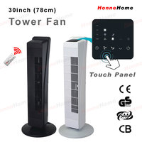 """30"""" 78cm height tower fan with remote control"""