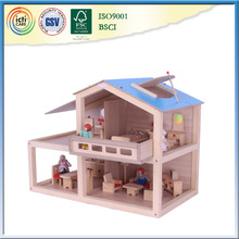 Cheap ready made house can teach child some basic function
