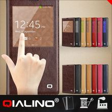 QIALINO Genuine Leather case for samsung galaxy note 3 case