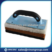 Best Selling Scouring Pad Holder, Sponge Pad with Velcro handle for Cleaning