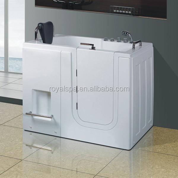 Rectangular Handicapped Walk In Bathtub For Elderly