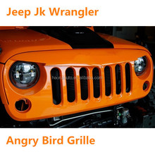 Jeep Auto Parts For Wranlger Front Anger Grille