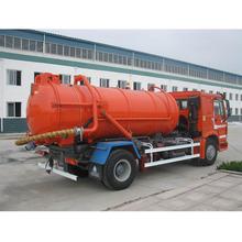 Sinotruk HOWO vácuo de sucção de esgoto tanker truck