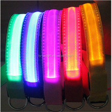 Pet products led collar Comfortable LED Flashing Dog Collar